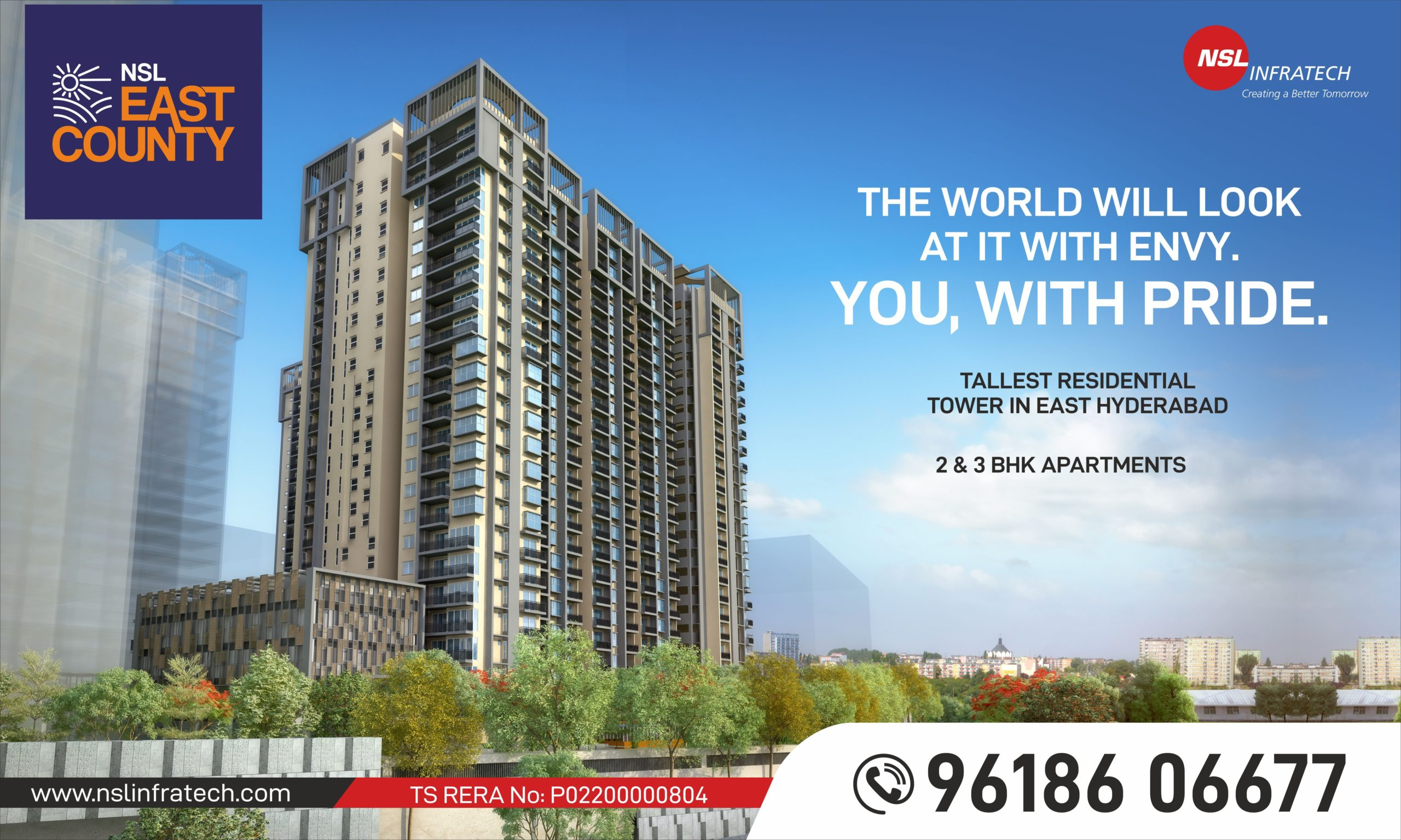 best high-rise apartments in hyderabad