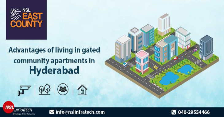 Advantages of Living in Gated Community Apartments in Hyderabad
