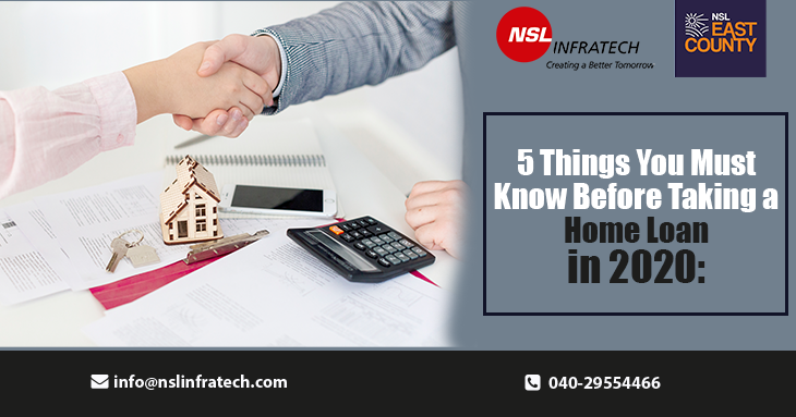 5 Things You Must Know Before Taking a Home Loan in 2020