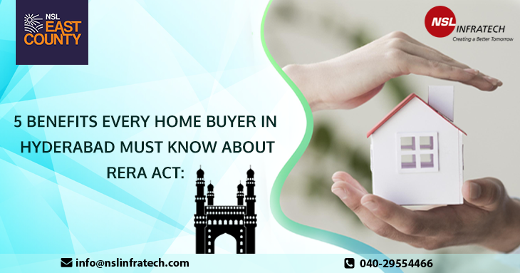 5 Benefits Every Home Buyer in Hyderabad Must Know About RERA Act