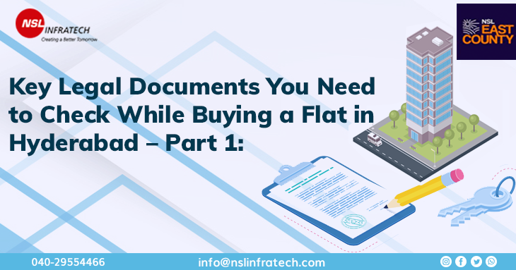 Legal documents required while buying a flat in Hyderabad