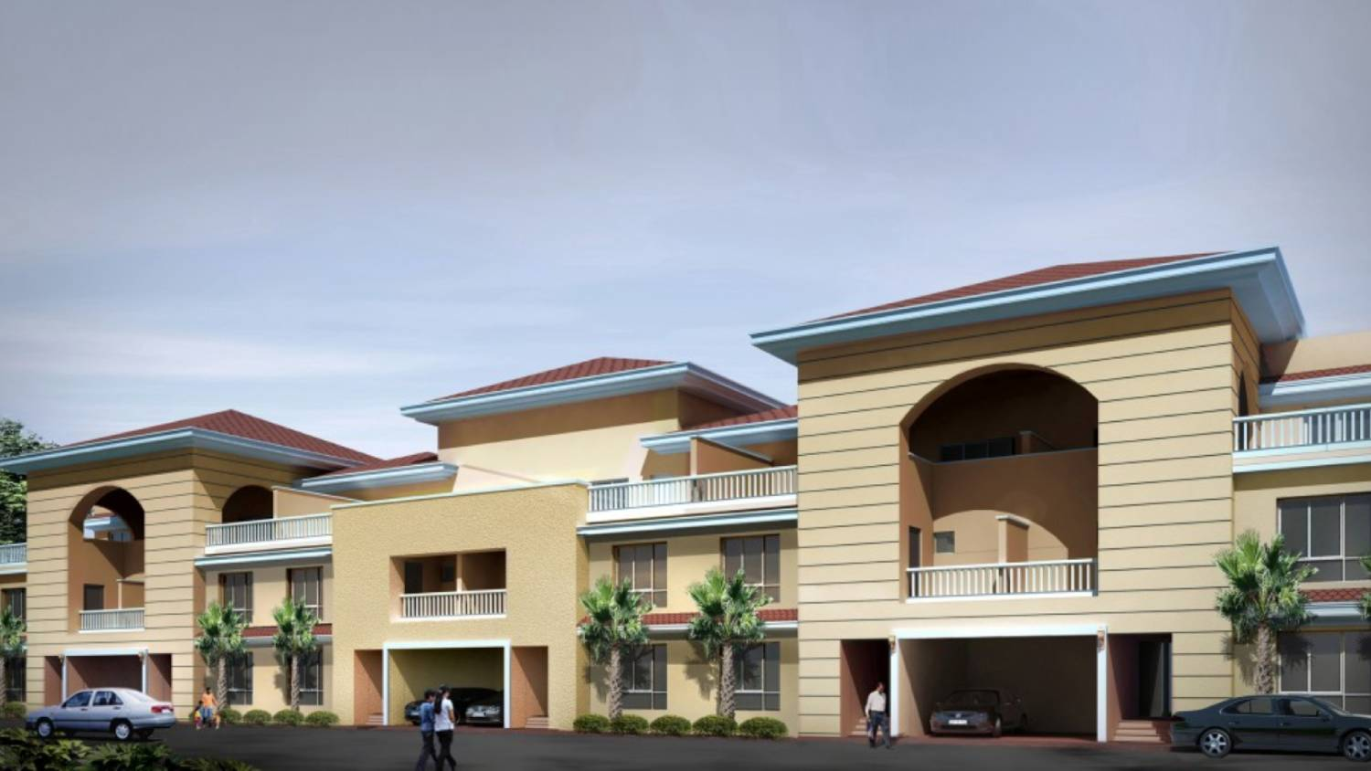 new residential projects and villas